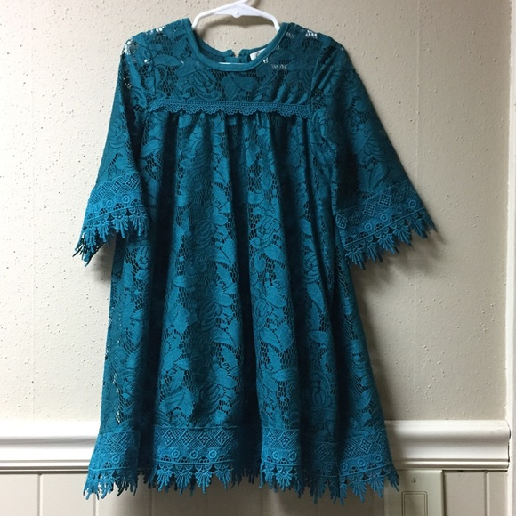 Jessica Simpson Other - Turquoise dress size 5T
